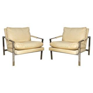 Baughman for Thayer Coggin Club Chairs - A Pair