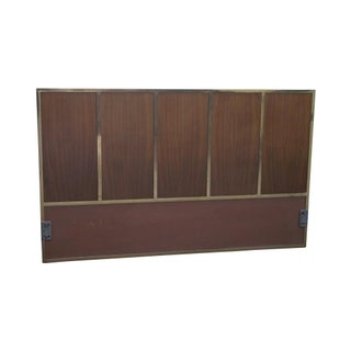 Paul McCobb Calvin Brass Frame Queen Size Headboard