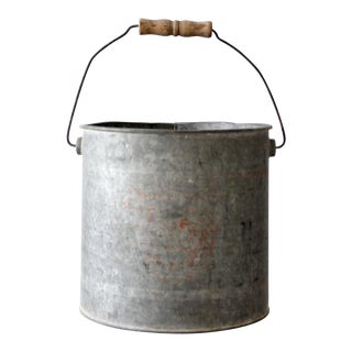 Vintage Galvanized Bucket