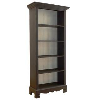 Beach House Bookcase in Slate