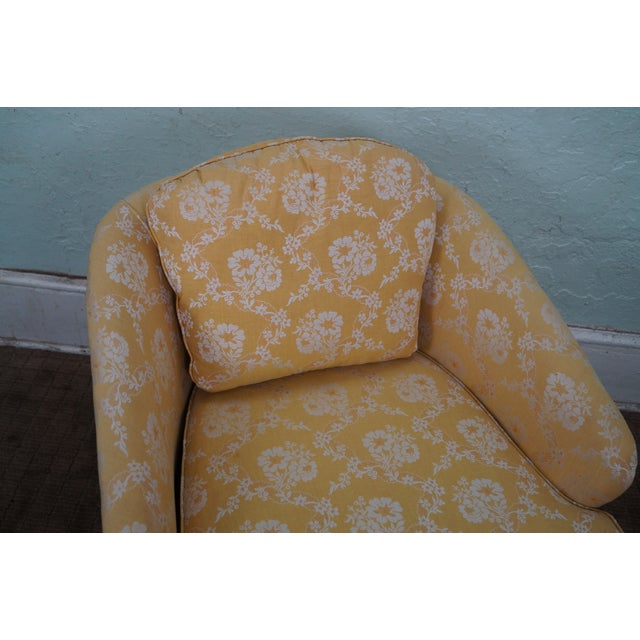 Mid-Century Barrel Back Lounge Chairs - Pair - Image 8 of 10