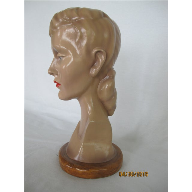 Vintage Female Mannequin Head - Image 3 of 7