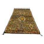 "Image of Vintage Berber Tribal Moroccan Rug - 3'5"" x 5'6"""