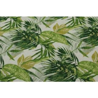 Duralee's Jungle Green Fabric - 1 Yard
