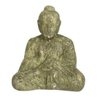 Green Sitting Buddha Statue