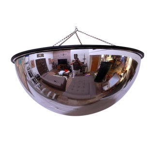 Vintage Department Store Convex Mirror