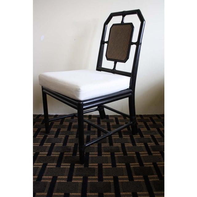 McGuire Harlan Side Chair in Gunmetal - Image 3 of 8