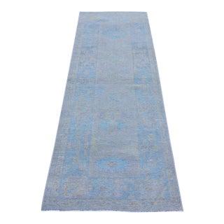 Oushak Turkish Rug Soft Colors - 2'4 X 6'11