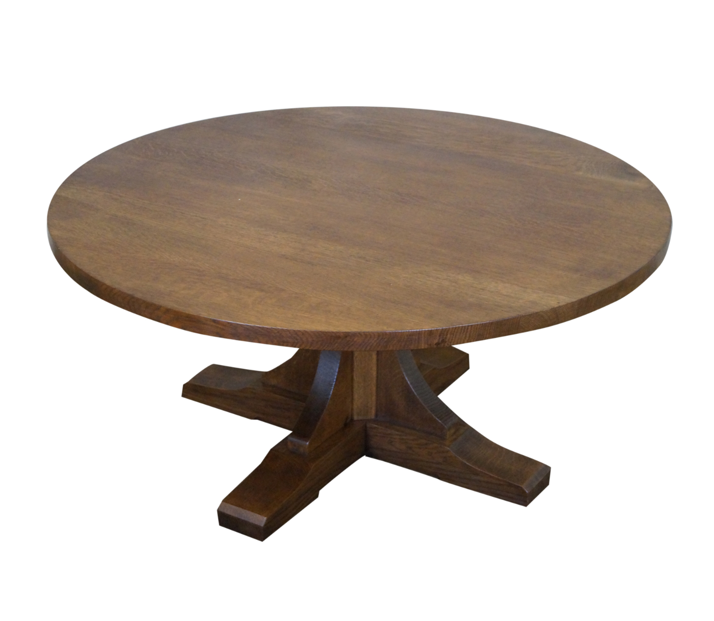Stickley Oak Adjustable Height Coffee/Dining Table : Chairish