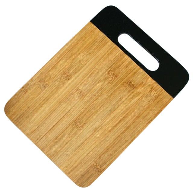 Image of Black Bamboo Cutting Board