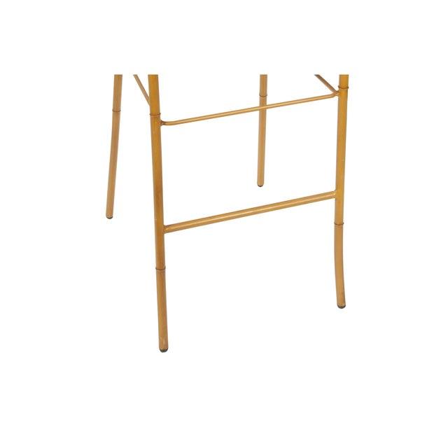 Faux Bamboo Bar Stool - Image 3 of 3