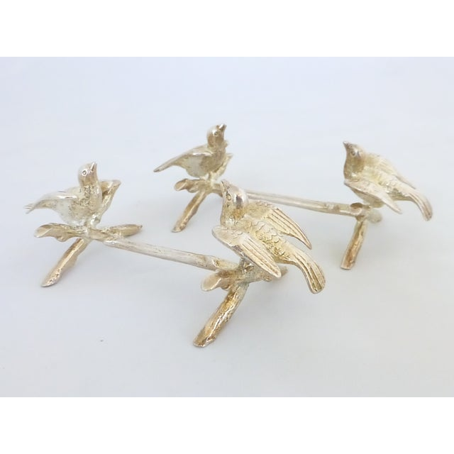 Image of Figural Bird Knife Rests - A Pair