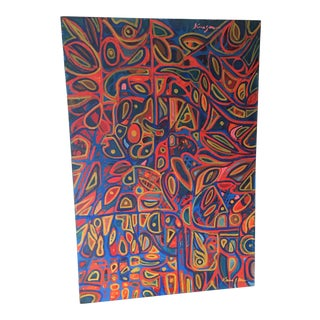 1960s Psychedelic Painting