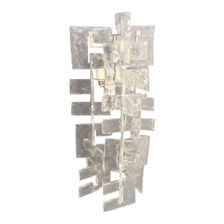 Mazzega Murano Glass Wall Light