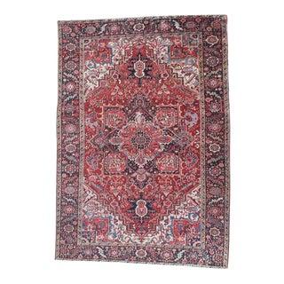 Vintage Persian Rug - 8′ × 11′3″