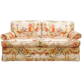 Baker Hazelton House English Chinoiserie Loveseat