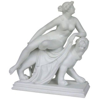 "Minton Parian-Ware ""Ariadne on a Panther"" Figurine"