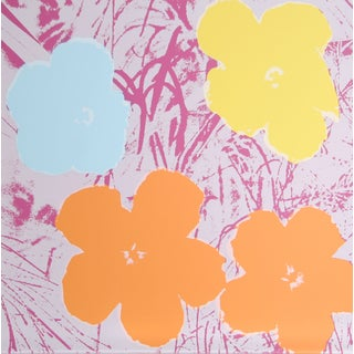 Andy Warhol, Flowers 8, Sunday B. Serigraph