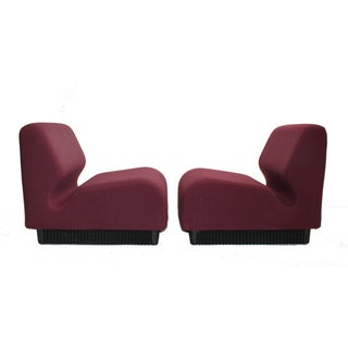 Don Chadwick Herman Miller Slipper Chairs - Pair