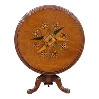 Miniature Tunbridgeware Tilt-top Table, Circa 1860