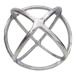 Silver Decorative Sphere