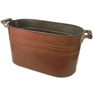 American Oval Copper Boiler