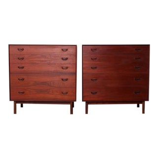 Pair of Teak Dressers by Peter Hvidt