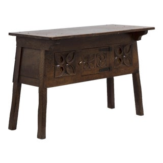 An Arts and Crafts Oak Side Table Circa 1890
