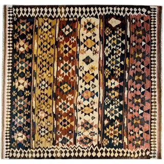 Amazing Early 20th Century Shahsavan Kilim Rug