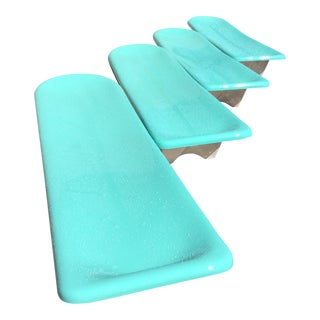Fibrella Chaise Lounges - Set of 4