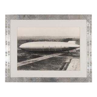 USS Akron US Navy Zeppelin Original 1931 Photograph