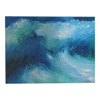 Acrylic Sea Spray Painting