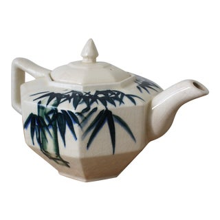 Chinoiserie Porcelain Teapot