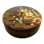 Image of Japanese Mid Century Melamine Decorative Box