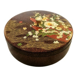 Japanese Mid Century Melamine Decorative Box