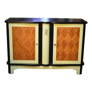 Hand-Painted French Console