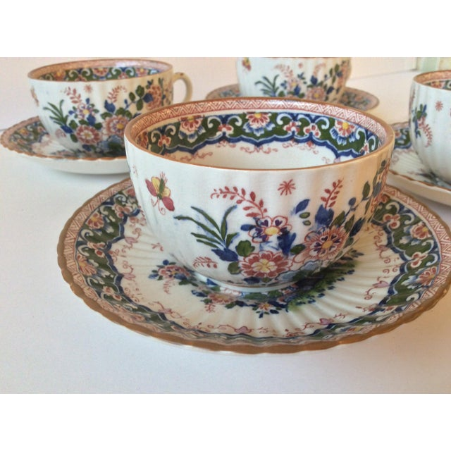 "Booths ""Old Dutch"" Cup & Saucers - Set of 4 - Image 4 of 11"