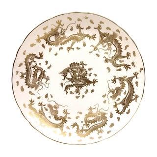Vintage Tuscan Gold Dragon Dessert Plate