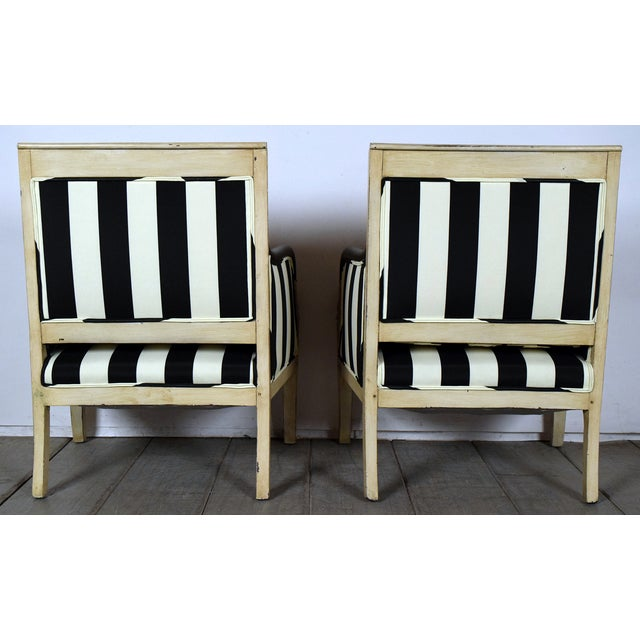 Image of Antique Empire Bergeres - A Pair