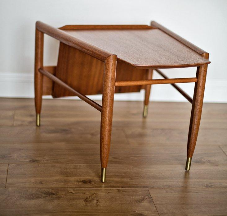 John Keal For Brown Saltman Wedge Table   Image 7 Of 7