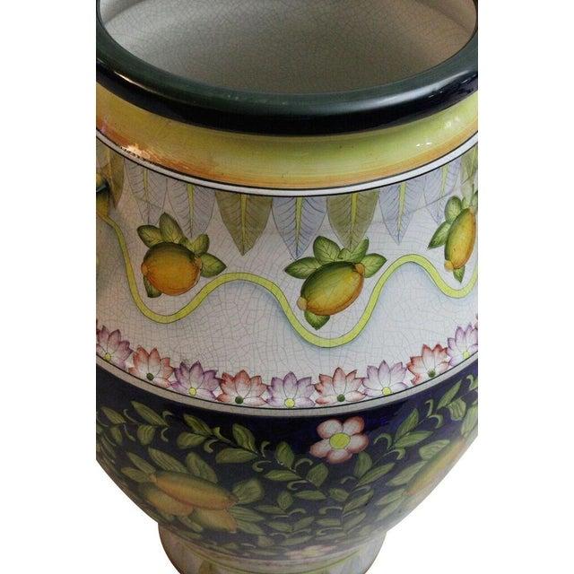 Italian Floor Vase - Image 2 of 3