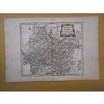 Image of 18th C. Antique Map of Germany (Bavaria) & Austria