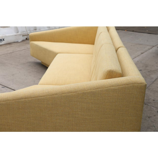 Yellow Sectional Sofa - Image 11 of 11