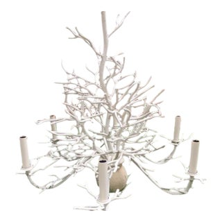 Currey and Company Seaward Faux Coral Chandelier