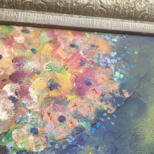 Floral Oil Painting - Image 4 of 8