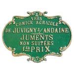 Image of Vintage 1985 French Agriculture Trophy Award Prize