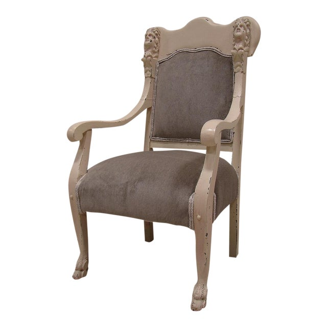 Image of Vintage Antique Victorian Upholstered Chair