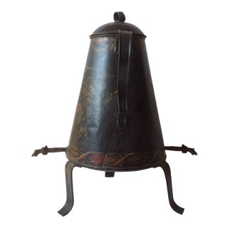 American Tole Double Spouted Coffee Urn