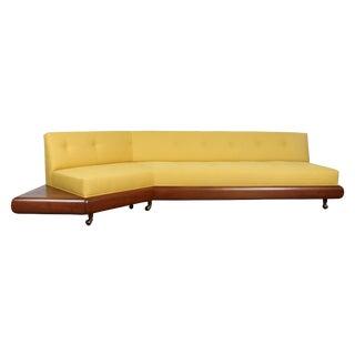 Adrian Pearsall Yellow Platform Sofa