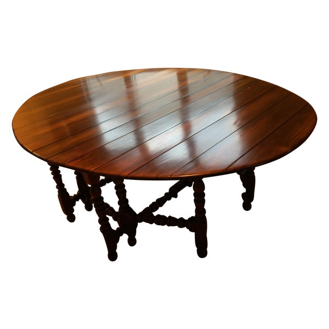 Chestnut Dining Table Chairish